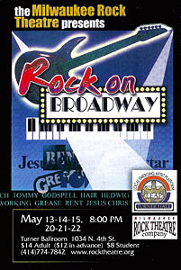 Rock on Broadway Poster